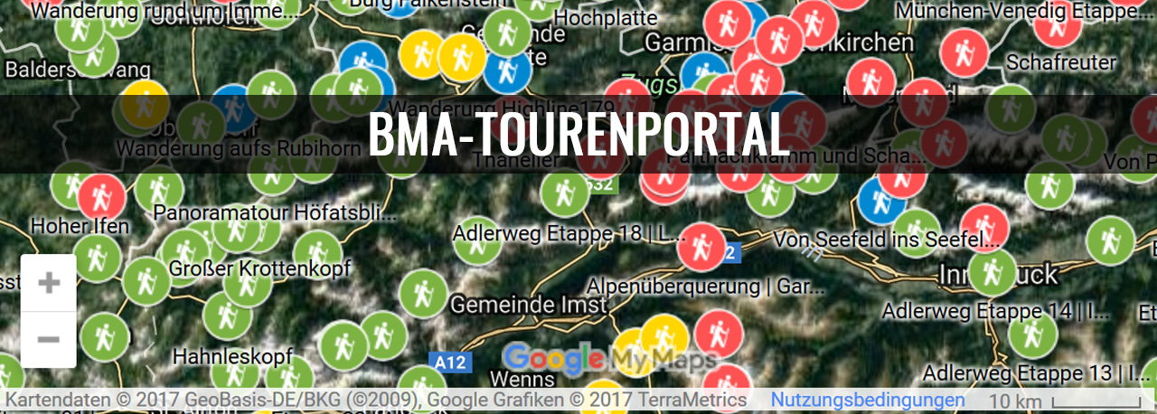 BMA-Tourenportal BMA Outdoor-Blog