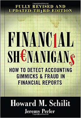 Financial Shenanigans How to Detect Accounting Gimmicks & Frauds in Financial Reports Howard M. Schilit and Jeremy Perler, Accounting Financial Reporting Frauds cooking Books