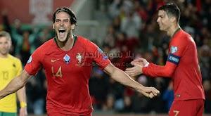 البرتغال يفوز على منتخب ليتوانيا في التصفيات المؤهلة ليورو 2020 بست أهداف بدون رد