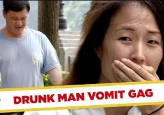 Funny Video – VOMITING In Convertible Car