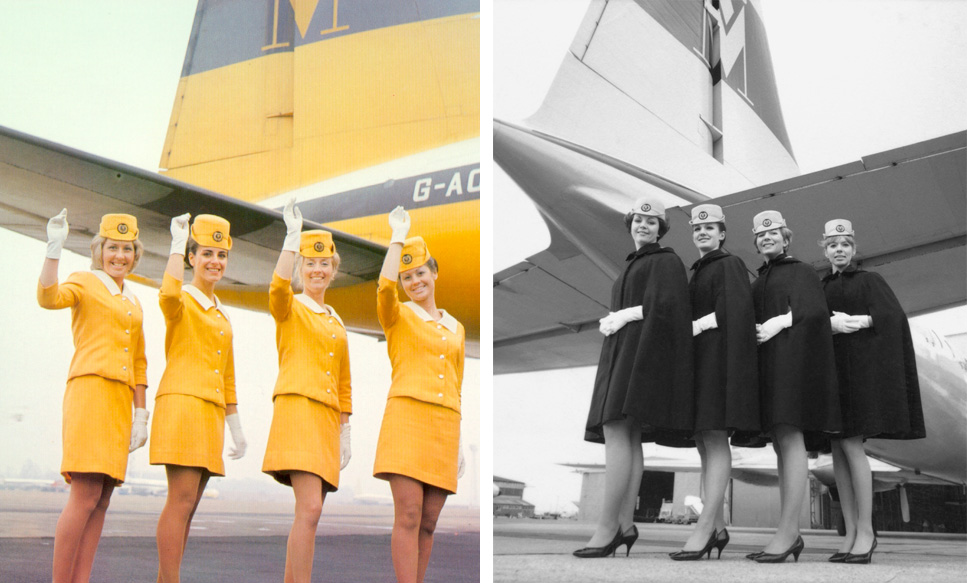 Monarch Airlines Vintage Uniforms