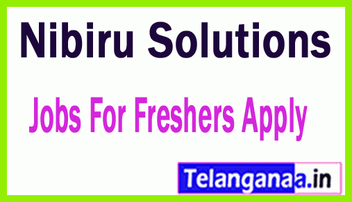 Nibiru Solutions Recruitment Jobs For Freshers Apply