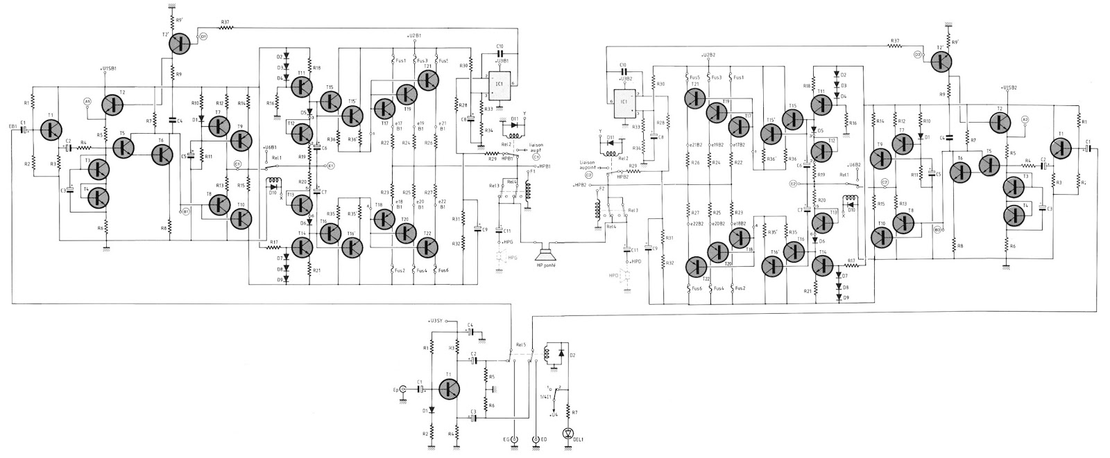 tibet sound system  1 kw power btl from prancis dan 5 kw