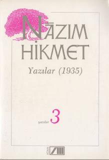 Nazım Hikmet - Bütün Eserleri 23 - Yazılar 3 - (1935)