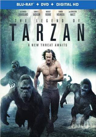 The Legend Of Tarzan 2016 BluRay 800MB Hindi Dual Audio ORG 720p Watch Online Full Movie Download bolly4u