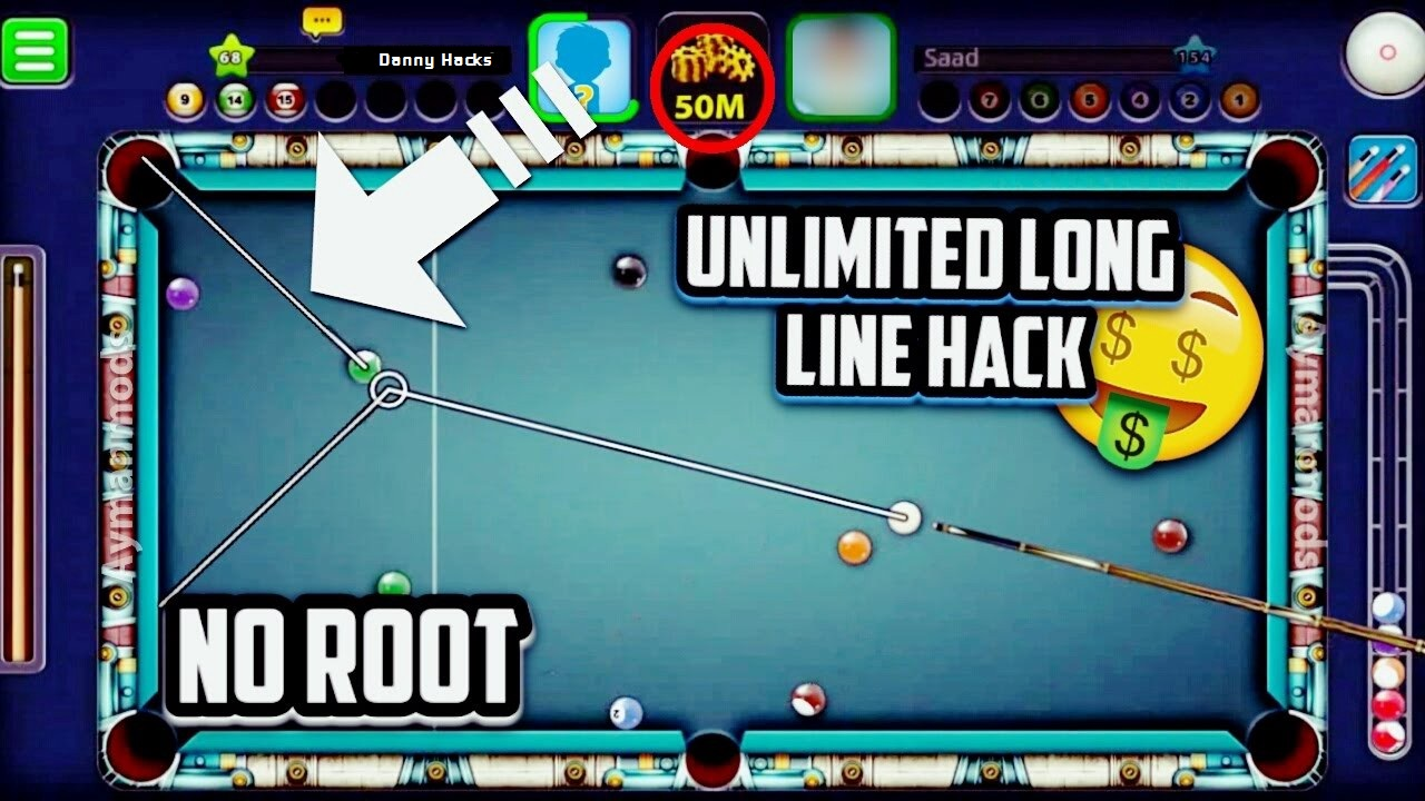 Download 8 Ball Pool (MOD, Extended Stick Guideline) free on ... -