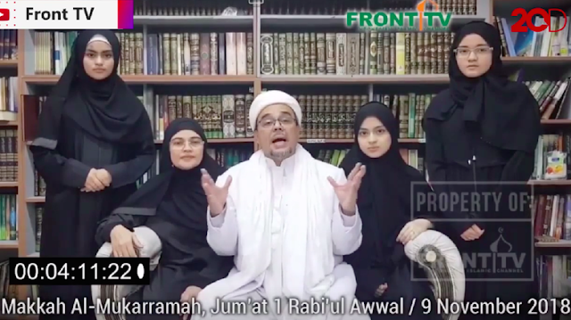 Habib Rizieq Bicara, Istana hingga Ma'ruf Amin Menanggapi