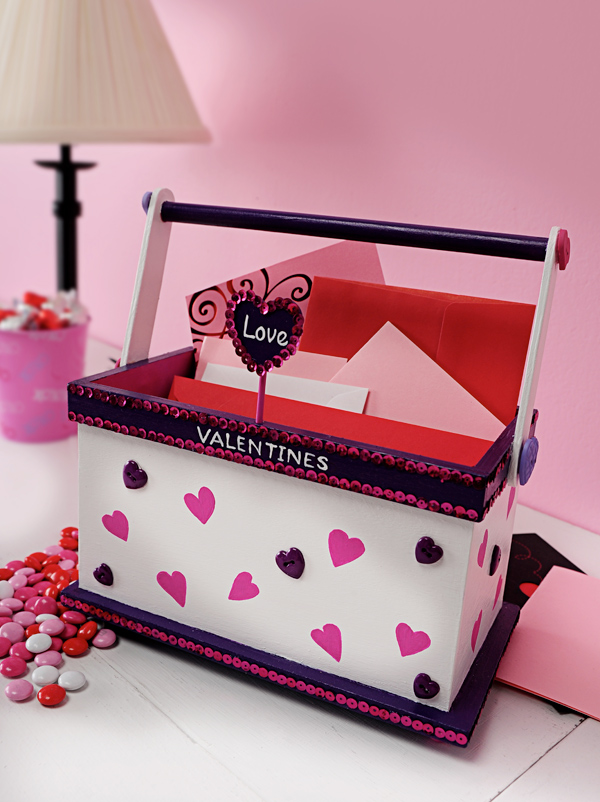 Its Written on the Wall 4 Valentines Day Mailboxes holders for