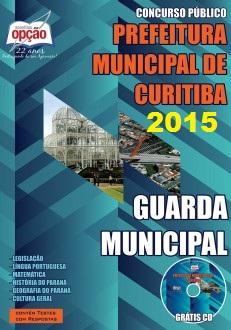 Apostila Prefeitura de Curitiba (PR) Guarda Municipal