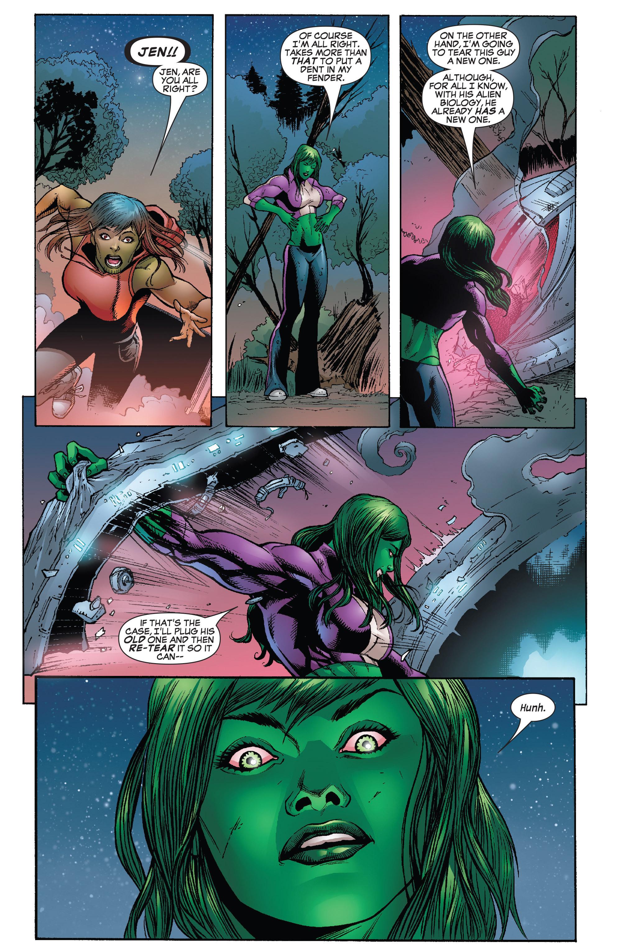 Read online She-Hulk (2005) comic -  Issue #25 - 11
