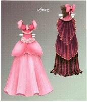 бумажная кукла одежда