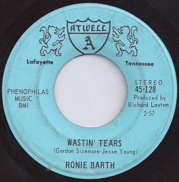 Ronie Barth - Wastin' Tears - Have You Ever Been Lonely