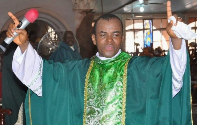 Fr. Mbaka speaks on Buhari's victory, warns politicians to stop ignoring him