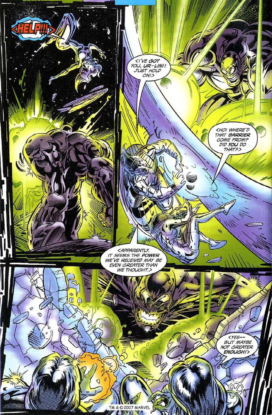 Read online Silver Surfer (1987) comic -  Issue #117 - 16