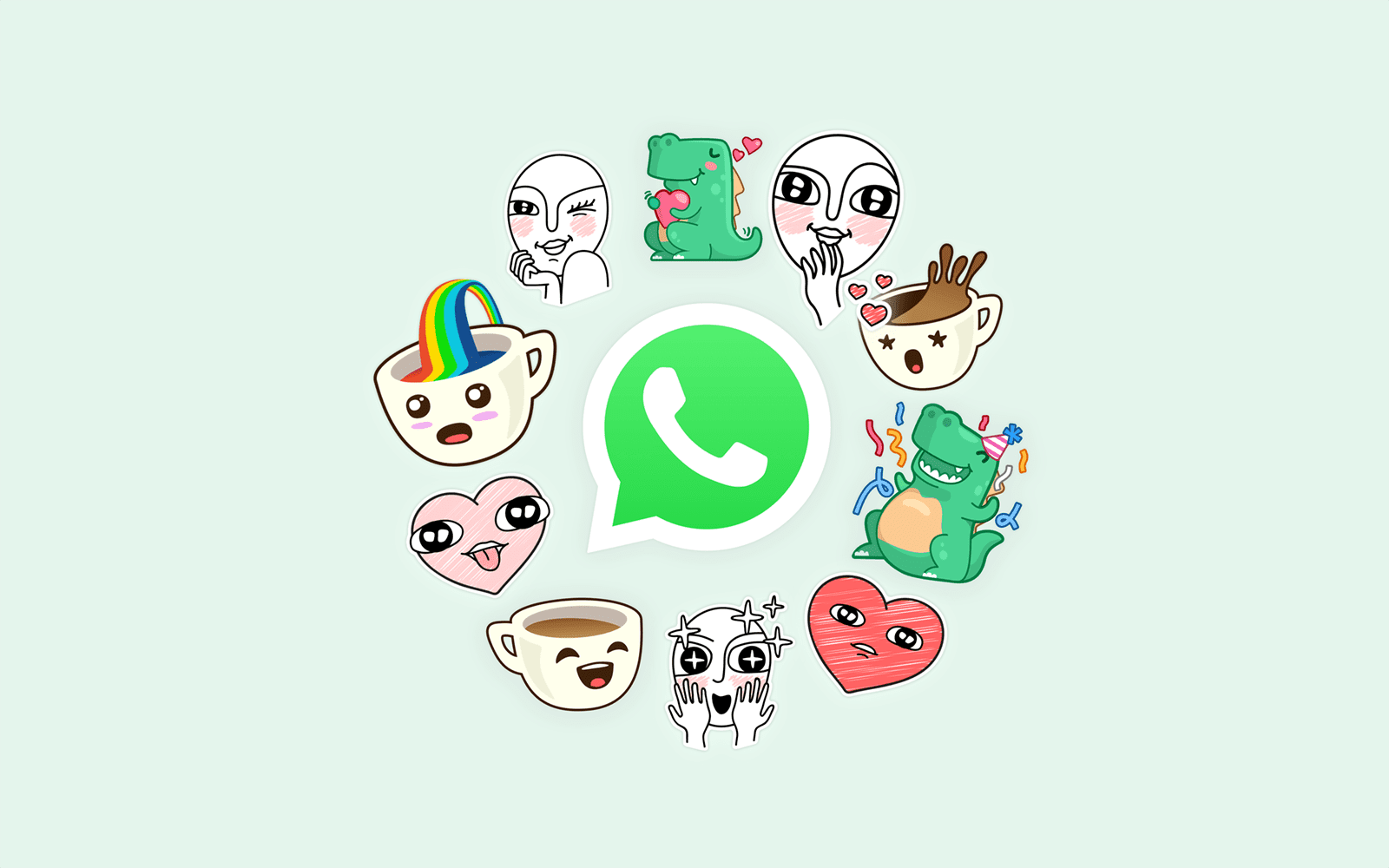 Menggunakan dan Mengatasi Whatsapp Stiker di HP yang Belum Muncul