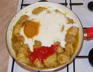 Preparare curry de porc retete culinare,
