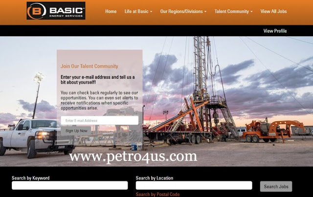 Basic Energy Services oil rig hands field jobs in May 2019