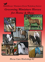 Grooming Miniature Horses for Home and Show Video DVD Small Horse Press