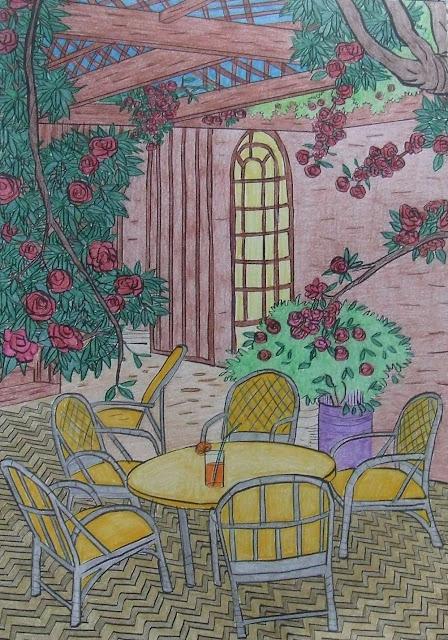 altanka - kolorowanka dla dorosłych
