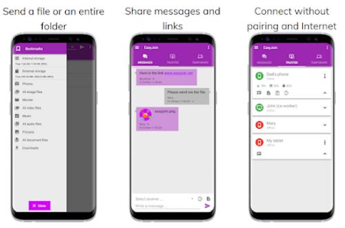 افضل 4 تطبيقات لارسال الملفات الكبيرة بين الهواتف