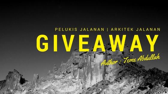 Giveaway : Pelukis Jalanan & Arkitek Jalanan by stnrsyfh