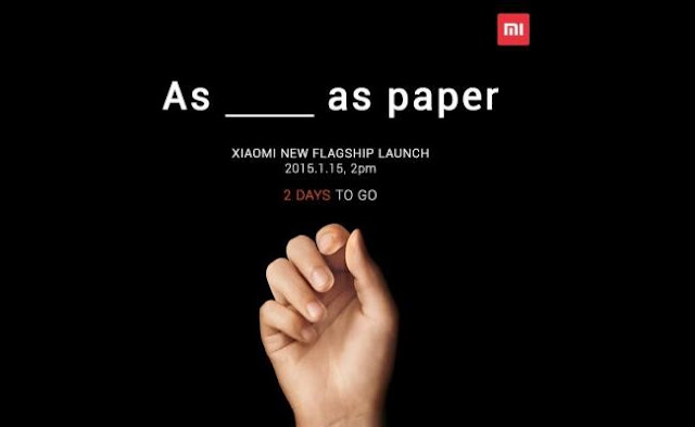 There are only two days left, to know what's new in Xiaomi
