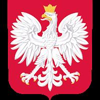 Logo Gambar Lambang Simbol Negara Polandia PNG JPG ukuran 200 px