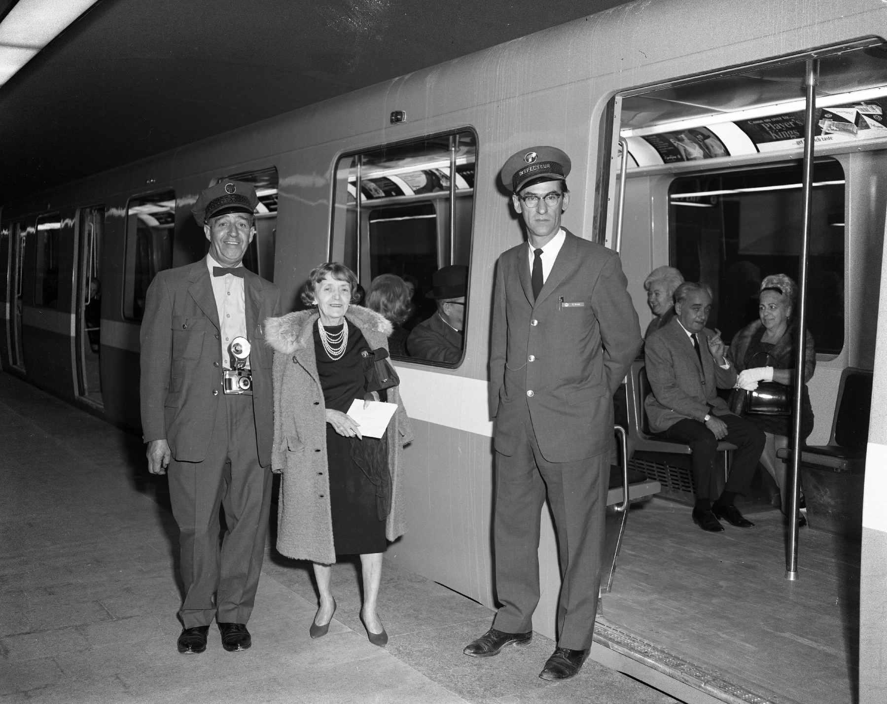 montréal metro, circa 1967