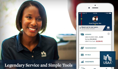 USAA – Legendary Service and Simple Tools