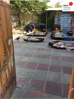 Pictures of the bodies of the 12 Prisoners Executed On August 27, 2016