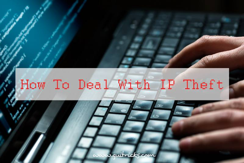 How To Deal With IP Theft