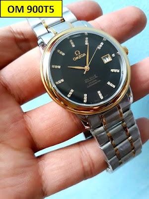 Đồng hồ nam dây inox trắng OM 900T5