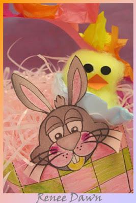 Easter Basket Bunny - Renee Dawn Teacher Ink