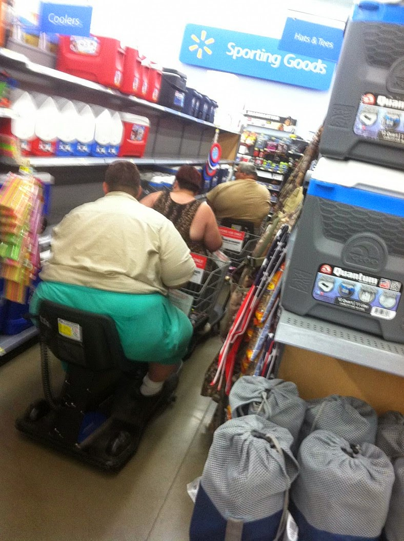 Walmart Traffic Jam Funny