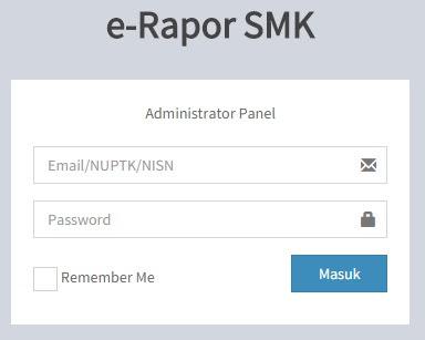 e-Rapor SMK