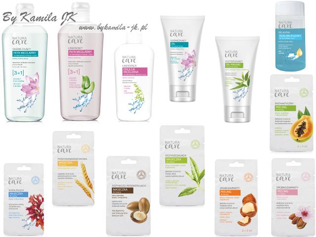 Nowości Natura Care kosmetyki do pielegnacji i oczyszczania twarzy