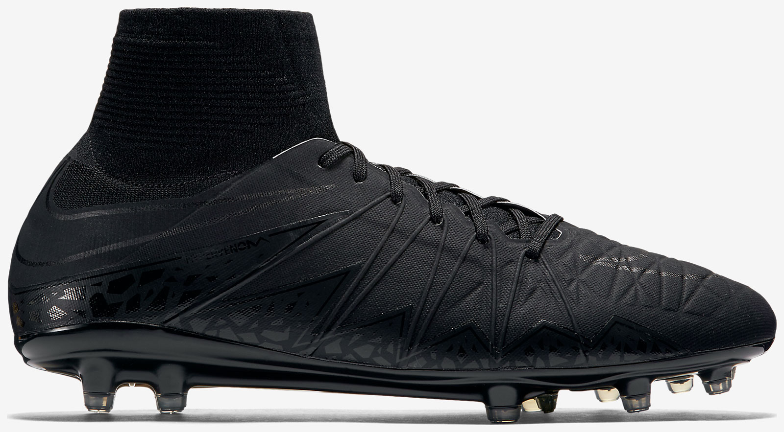 d6c85cd1701e The black-out Nike Hypervenom Phantom II Academy Pack Soccer Cleats  introduce a stealth look