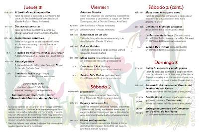 Festival de las Flores. Valle del Jerte