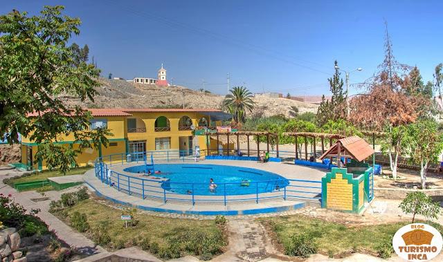 Baños termales de Caliente Tacna