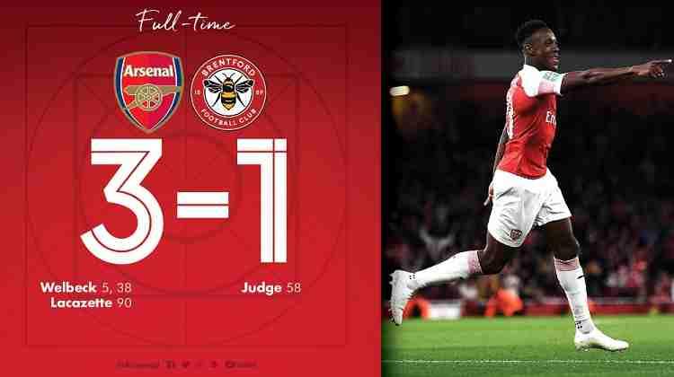 Hasil Arsenal vs Brentford Skor Akhir 3-1