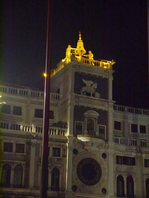Horloge Place Saint Marc à Venise