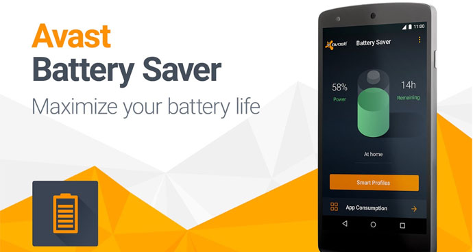 Application of Avast Battery Saver
