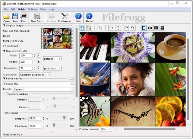 Benvista PhotoZoom Pro 7 Full Crack