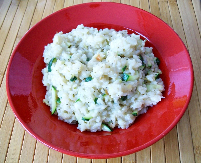 rezept vegan zucchini-risotto hauptspeise