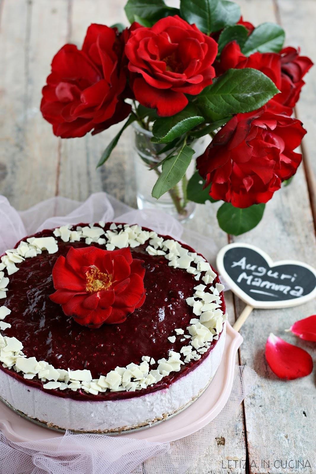 Letizia in Cucina: Cheesecake ai frutti di bosco