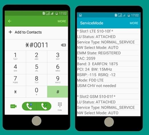 Cara lock Sinyal 4G only pada hp samsung J2 - IME Android
