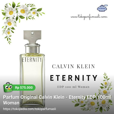toko parfum asli parfum original calvin klein eternity edp 100ml woman
