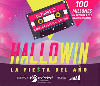 Poster HALLOWIN La fiesta del año 2018