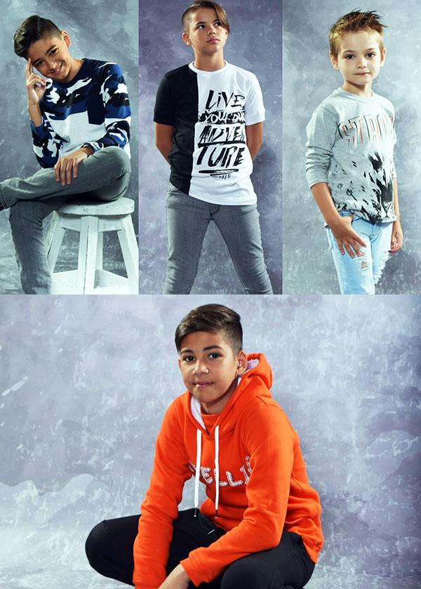 Moda otoño invierno 2018 ropa de niños. Moda otoño invierno 2018.