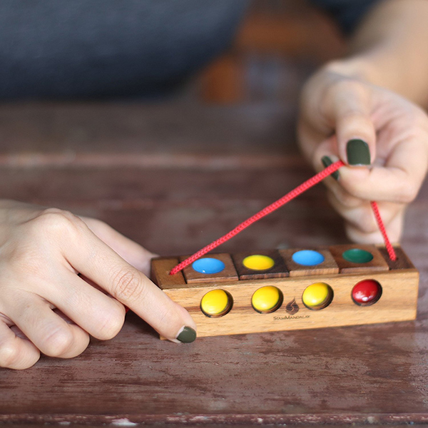 Traffic Light Wooden Puzzle